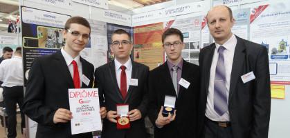 Złoty medal na Międzynarodowych Targach Inventions - Genewa 2014