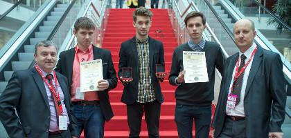 Brązowy i srebrny medal na Międzynarodowym Konkursie Wynalazków iENA - Norymberga 2014
